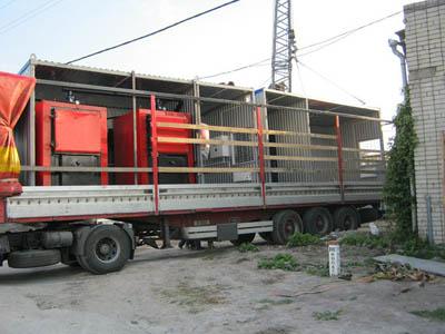 транспортабельная модульная котельная установка на электричке